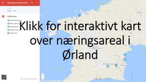 Klikk For Interaktivt Kart Over Naeringsareal I Orland Orland
